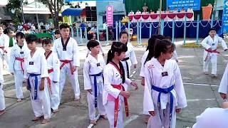 Biểu diễn taekwondo trà cú 2017 (trà vinh)