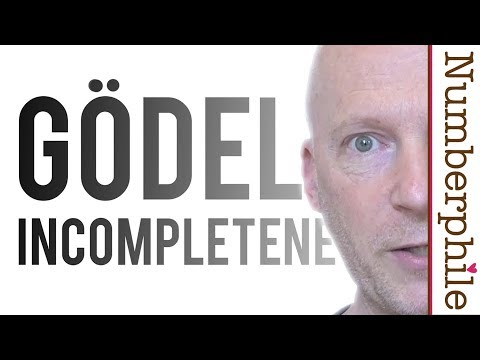 Gödel's Incompleteness Theorem - Numberphile