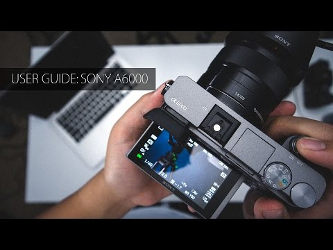 User manual sony a6300