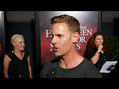 Christopher Landon Director Of Happy Death Day At Universal Halloween Horror Nights