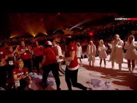 Nickelback - Burn It To The Ground at Olympics Closing Ceremony