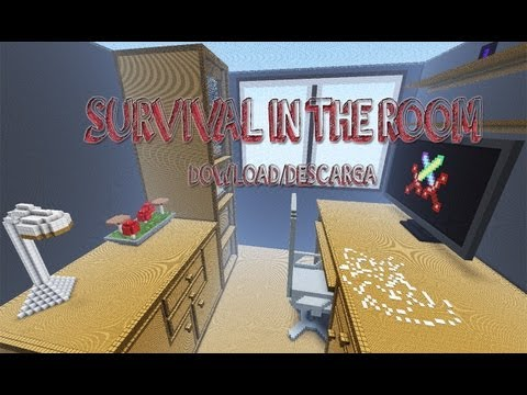 Mapa de supervivencia para minecraft 1.9.2 survival in the room