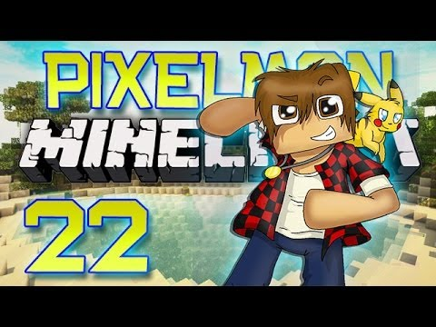 Minecraft: Pixelmon Let's Play w/Mitch! Ep. 22 - POWER MOVES! (Pokemon Mod)
