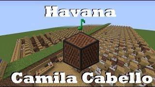 Download Lagu Havana - Camila Cabello - Minecraft Note Blocks Gratis STAFABAND