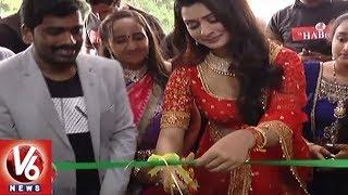 RX 100 Movie Fame Payal Rajput Launches Hair And Beauty Saloon In Mahabubnagar