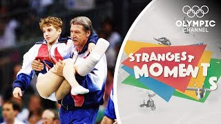 Kerri Strug 39 S Unforgettable Determination To Win Gymnastics Olympic Gold Strangest Moments