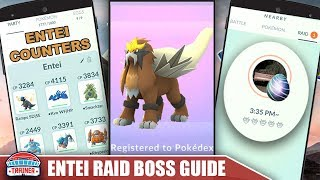 TOP SHINY ENTEI COUNTERS, 100 IV'S, BEST MOVES + RAID GUIDE TO BEAT THE FIRE LEGENDARY   Pokemon Go