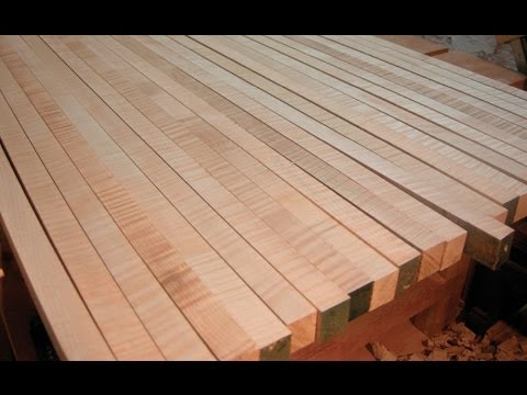 Make a laminated table top - The Architect's Table part ...