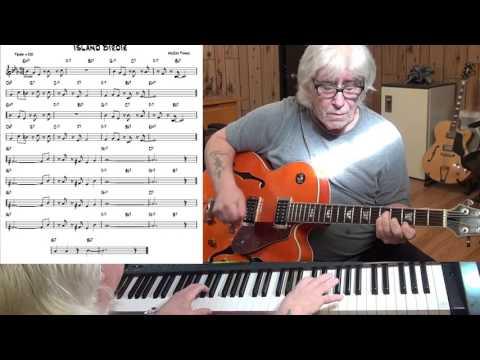 Island Birdie - Jazz Guitar & Piano Cover ( McCoy Tyner )