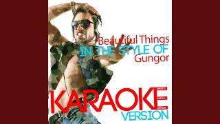 Beautiful Things In The Style Of Gungor Karaoke Version