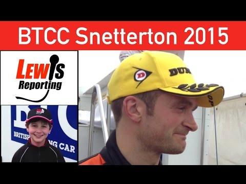 Colin Turkington - Race 2 Winner - BTCC Snetterton 2015