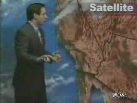Weatherman has the runs LIVE