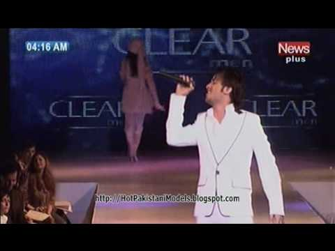 Pakistani Models Catwalk on Atif Aslam