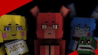 Minecraft Animation - Five nights in anime - The Strange Love Of Foxy and the others