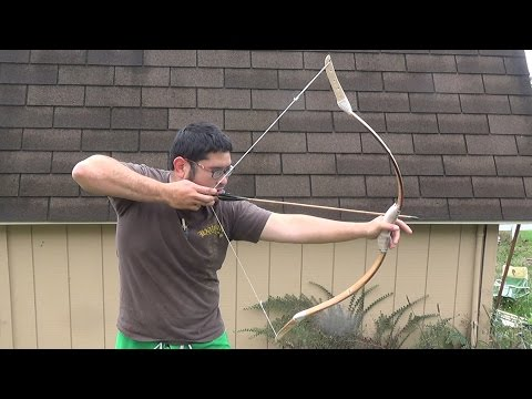 Unboxing and First Impressions of a Bamboo Horsebow from Mead Longbows