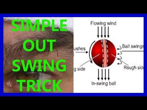 Hd Video Cricket Coaching Fast Bowling Swing Tips - Away out Swing Trick video