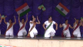 Radhika's group dance on Independence day - Des Rangila