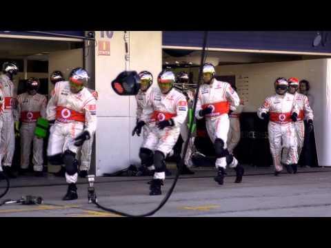 Vodafone McLaren Mercedes на Moscow City Racing 2013 | Мобильный интернет от МТС