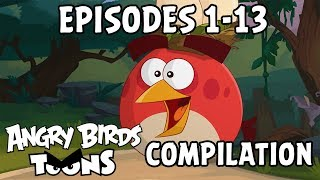 Angry Birds Toons Compilation | Season 2 Mashup | Ep1-13