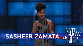 Sasheer Zamata Is A Tough Name For Certain People