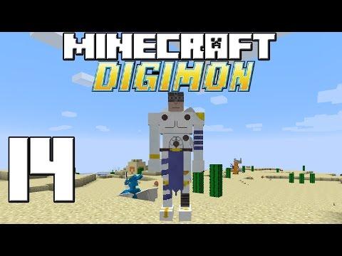 Minecraft Serie DIGIMON! Capitulo 14!