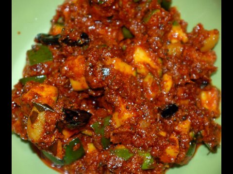 how to make raw mango pickle in kerala style