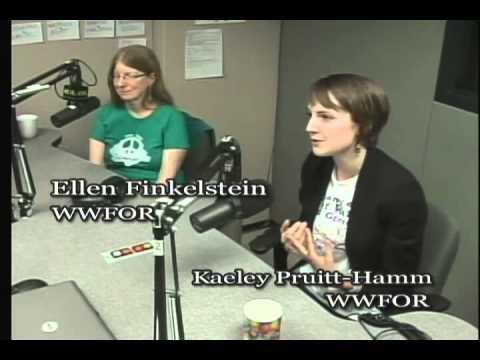 TalkingStickTV - Ellen Finkelstein & Kaeley Pruitt-Hamm - WWFOR Peace Activist Trainee Program