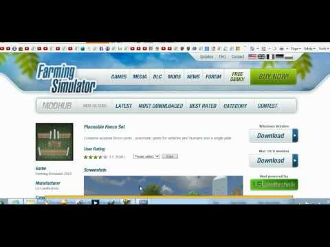Farming Simulator 2013 install mods to Steam