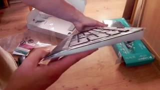 Unboxing Logitech Wireless Combo mk520 [2012]