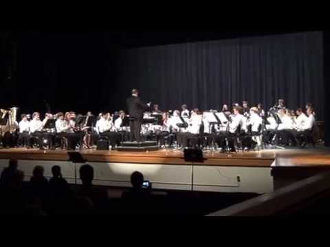 The Pride of Riverside High School Band Concert 05-14-13 Rikudim