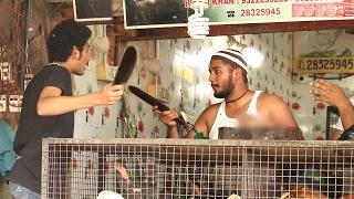 Crazy Chicken Seller Selling DONKEY Meat Prank By Raj - Baap Of Bakchod