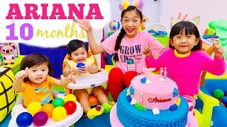 Ariana's 10th monthsary