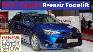 2015 Toyota Avensis Facelift, live photos at 2015 Geneva Motor Show