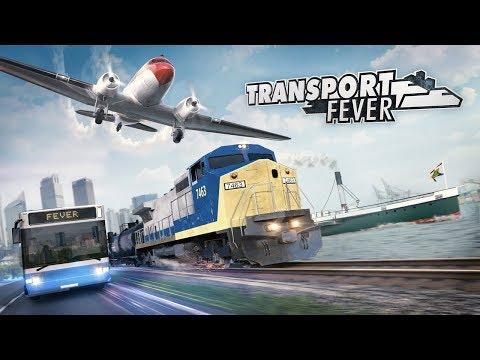 Паровозики - Олдскулы сводит (Transport Fever)