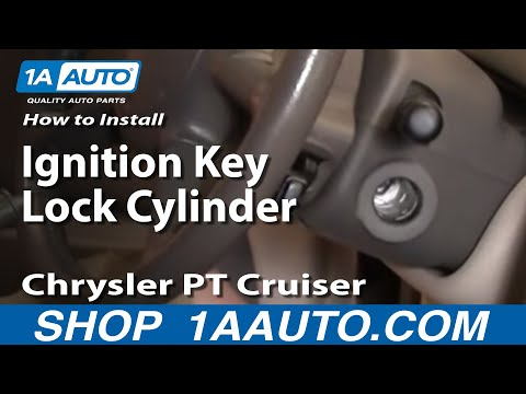 How To Install Replace Worn Out Ignition Lock Cylinder and Key Chrysler PT Cruiser 01-05 1AAuto.com
