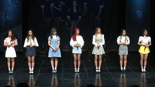 Dreamcatcher(드림캐쳐) 'Fly high'(날아올라) Showcase -Greetings- (Wake Up, Sleep-walking, 괜찮아, Trust Me)