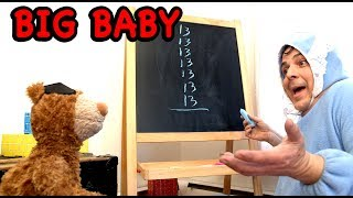 "BIG BABY - Ep. 24 - ""MATH PROBLEMS"" Comedy Web Series - FAMILY FRIENDLY"