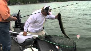 Muskie Fisherman lands a Double!