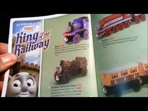 Thomas and Friends Fisher Price Wooden yearbook 2013