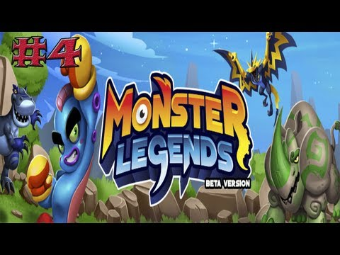 Monster Legends Capitulo 4 - Soy del Top 15 - Epic Monster