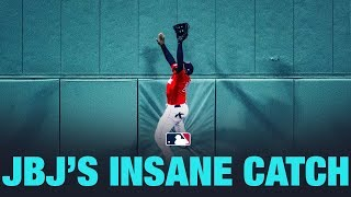 Jackie Bradley Jr. makes an INSANE catch!