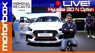 Hyundai i30 N Option | Live dal salone di Parigi 2018