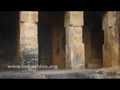 Undavalli caves : a rock cut cave temple in Andhra Pradesh, India