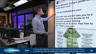 download musica Message to the media? Melania Trump wears I dont care jacket on way to child detention center
