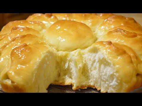 Отрывной яблочный пирог «Ромашка»