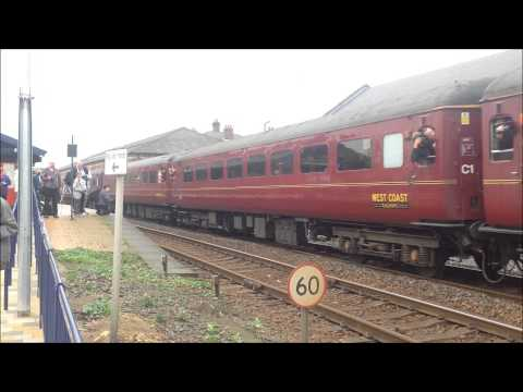 The Cleveland Potter Mini-Tour with BR Class 40 No 40145 & No 47804