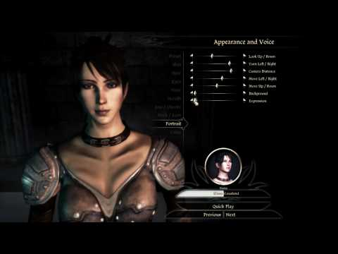 Dragon Age Origins Characters Creation Dragon Age Origins