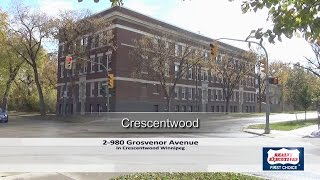 Condo for sale at 980 Grosvenor Ave in Crescentwood Winnipeg