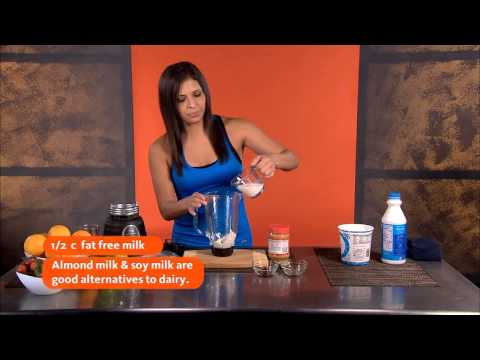 Operation Be Fit:  All-Natural Protein Shake