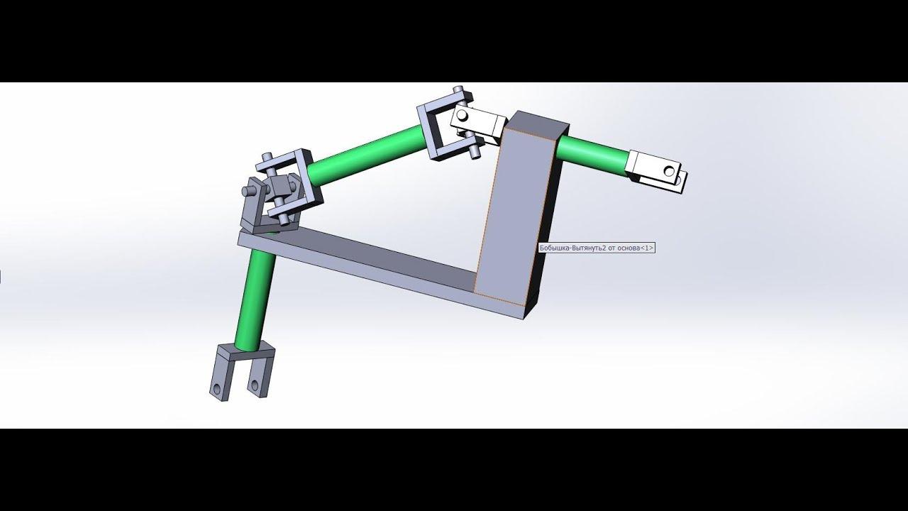 Угловой конический редуктор своими руками 7